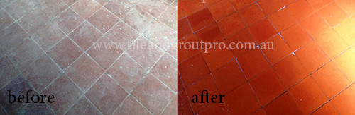 Stripping Quarry Tiles
