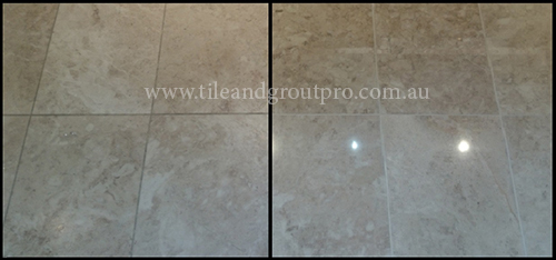 regrouting Limestone Tiles