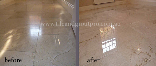 Resurfacing Limestone Tiles